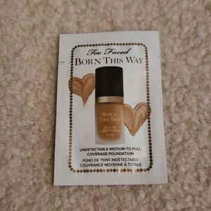 Too Faced Born This Way Foundation Sample Packet